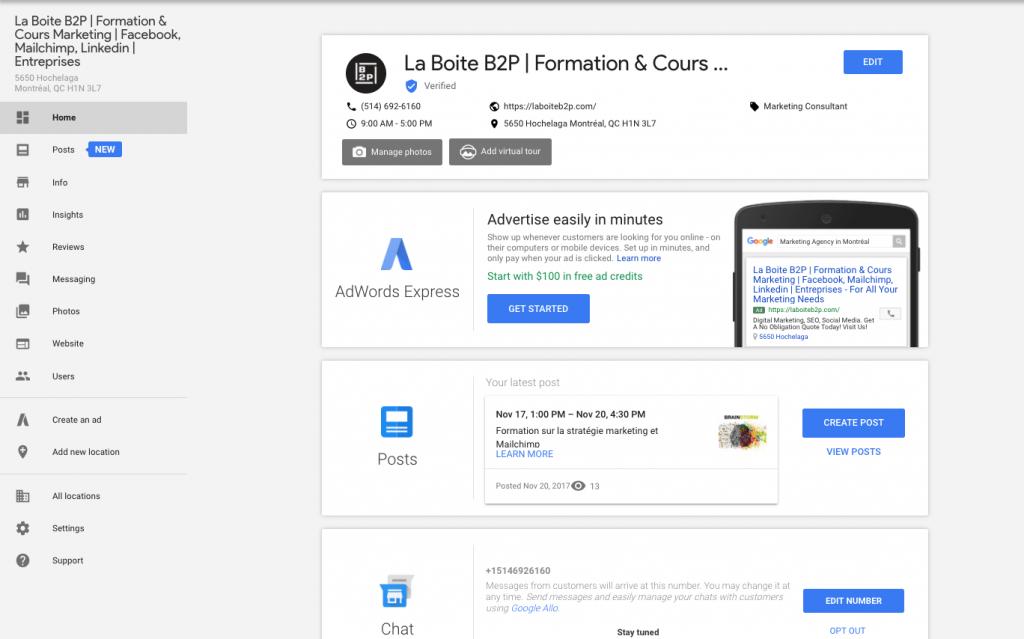 entreprises, Les bonnes plateformes sociales & marketing pour les entreprises, La Boite B2P, La Boite B2P