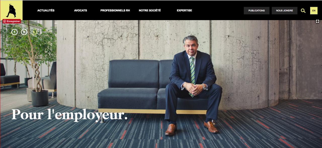 Formation Linkedin, Formation Linkedin pour des avocats en droit du travail à Montréal, La Boite B2P